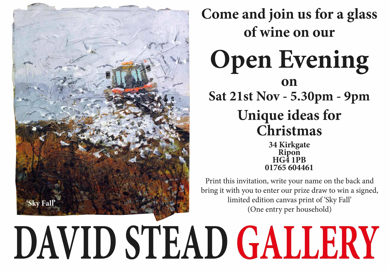 Christmas exhibition david stead gallery invitation2 stopboris Image collections